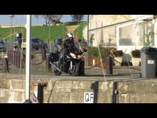Как по-глупому разбить мотоцикл.